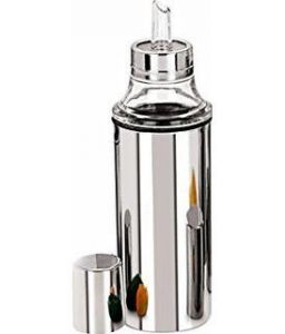 Omrd Stainless Steel Oil & Vinegar Dispenser - 1 Ltr