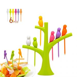 Bgm Plastic Fruit Fork Set