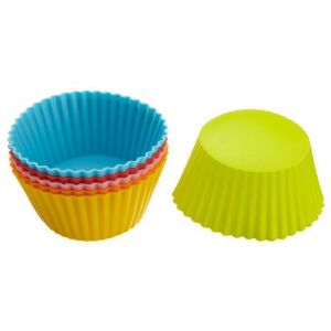 Omrd Set Of 6 Silicone Cake Cup Molds