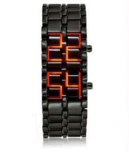 Dh LED Display Cum Bracelet Watch