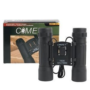 Omrd Comet Compact Binocular 10x25 Powerful Focus Power Zoom Japanese Techn