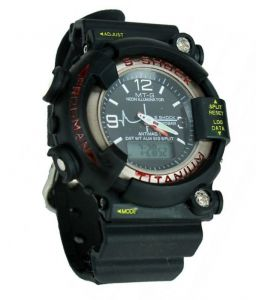 Men's Watches   Analog & Digital - S-shock Titanium Sports Wrist Watch