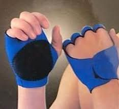 Gym Palm Finger Support Wrist Protection Fingerless Sports Gloves