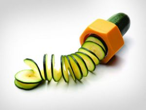 Spiral Cucumber Slicer Vegetable Fruit Salad Cutter
