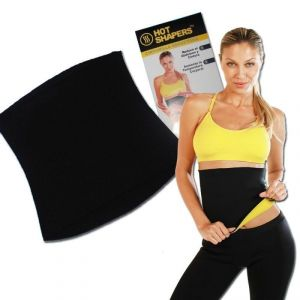 Neoprene Waist Hot Shaper Belt Vest Band Neotex Body Sweat Fat Burn Unisex (xxxl)