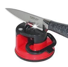 2 X Knife Sharpener With Suction Pad