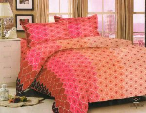 Welhouse King Size 1 Double Bedsheet With 2 Pillow Covers Nmjs-017