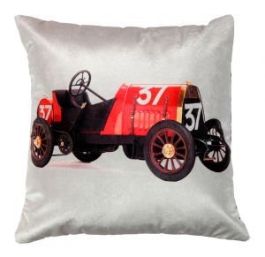 Welhouse Traditional Jeep Printed Cushion Cover Vl_cu-044