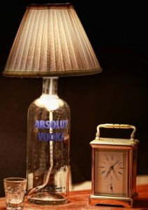 Table lamps - 10 am Absolute Lamp with Shade ( LAWBAB1 )