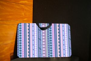 10 AM Aztec Lappad (purple-blue) ( Lpaztp6 )