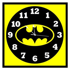 10 AM Batman Clock- Acrylic ( Clba15 )