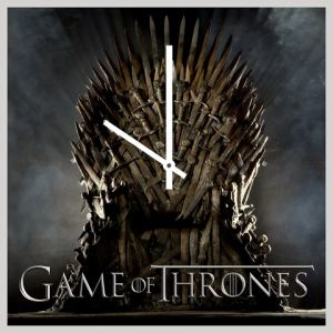 10 AM Game Of Throne Clocks - Acrylic ( Clgot25 )