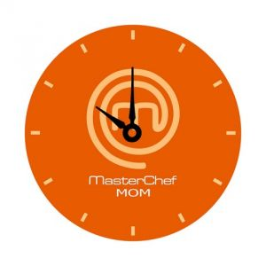 10 AM Masterchef Mom Clock- Acrylic ( Clmm25 )