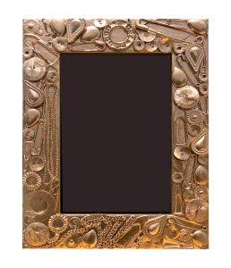 10 AM Gold Photo Frame ( Pfgo7 )