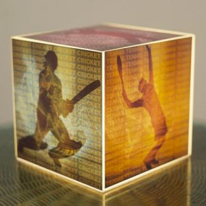 10 AM Sports Cube Lamp ( Laclsp08 )