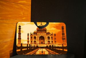 10 AM Taj Lap Pad (orange) ( Lpt10 )
