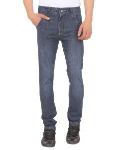 Savon Mens 16112_03 Slim Fit Blue Stretch Denim Jeans For Men
