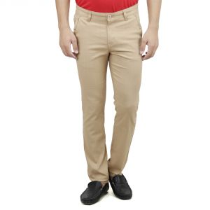 Savon Mens Slim Fit Stretch Linen Look Trouser For Men Light Comfortable Fabric