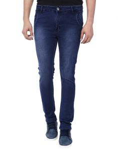 Savon Mens Slim Fit Stretch Blue Denim Jeans For Men Ni11111-03