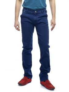 Savon Mens Ni10291 Slim Fit Stretch Blue Denim Jeans For Men