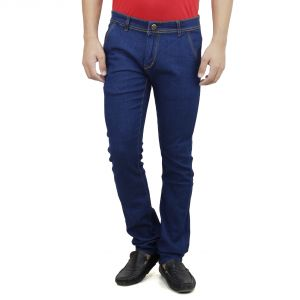 Savon Mens Slim Fit Blue Denim Jeans For Men (product Code - Sh507107-02)