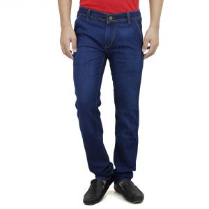 Savon Mens Slim Fit Stretch Blue Denim Jeans For Men (product Code - Sh507112-02)