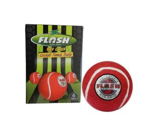 Flash Cricket Tennis Ball Pack Of 12