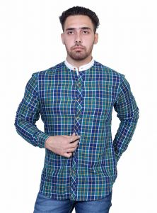 John Player Blue Shirt For Men 4x8a3341