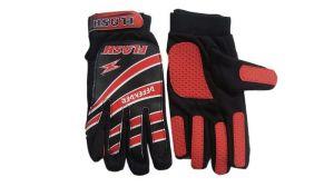 Football - Flash Football Goalkeeper Gloves Red & Black