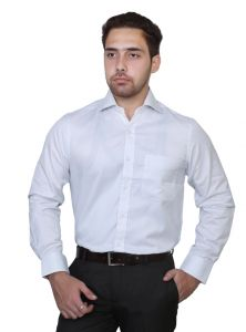 Iq Pure Cotton White Shirt For Men Inqowh_3