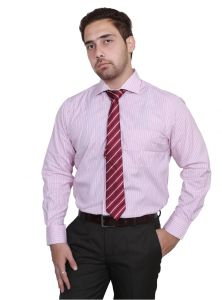 Iq Pure Cotton Pink Shirt For Men Inqpnk_3