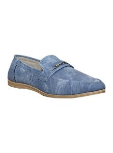 Port Martin Blue Mens Loafers