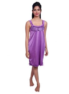 Port Purple Nightwear For Women P018_3