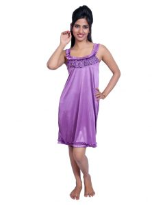 Port Purple Nightwear For Women P021_3