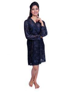 Port Black Nightwear For Women P025_3