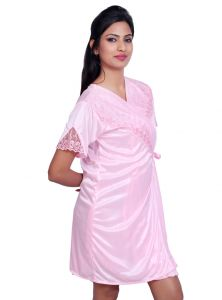 Sleep Wear (Women's) - Port Pink Nightwear for women p029_3