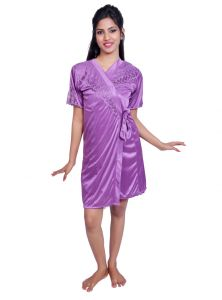 Port Purple Nightwear For Women P030-2_2