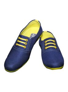 Port Youngster Blue Yellow Loafer