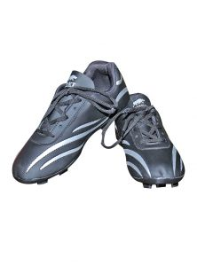 Port Spectra Black Football Sports Shoes