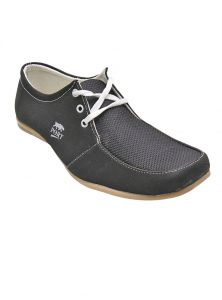 Port Black Caual Shoes