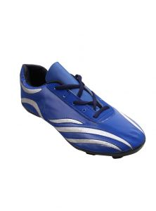 Port Blue Snake Football Shoes