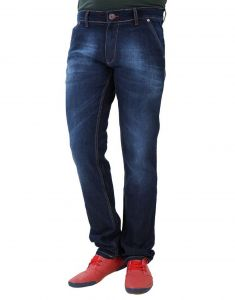 Port Jeans (Men's) - Port Rio-Grand Blue Mens stretch fit Jean r1_1