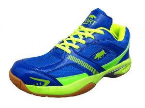 Port Pu Blue Python Badminton Sports Shoes-bluepynthon113