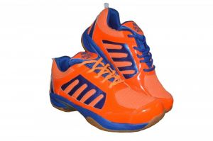 Port Dox Orange -art140 Badminton Sports Shoes