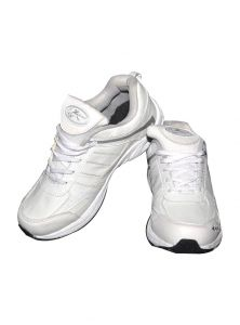 Sports Shoes - Zigaro Z36 white running sport shoes