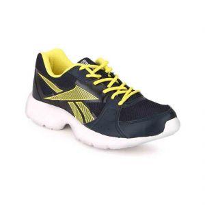 Reebok Sport Shoes (Men's) - Reebok Mens Top Speed BD3635 Blue Yellow Running Sports Shoes