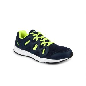 Lotto Sport Shoes (Men's) - Lotto Sleek Navy & Lime Mens Running Sport Shoes AR4703-474