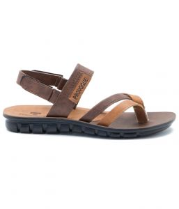 Floaters (Men's) - Provogue Stylish & Attractive Brown Tan Floater Sandals
