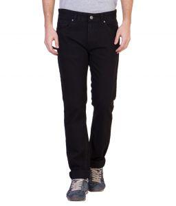 Ruf N Tuf Jeans (Men's) - Ruf & Tuf Stylish Party Casual Black Denim Jeans