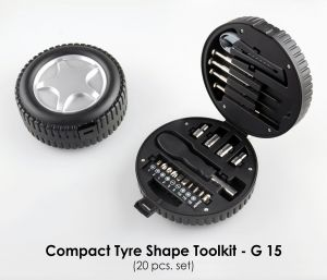 G15 - Compact Tyre Shape Toolkit (20pcs. Set)